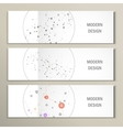 set network design vector image vector image
