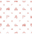 site icons pattern seamless white background vector image vector image