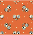 smile pattern background texture doodle vector image vector image