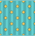 beautiful seamless pattern sun on a vector image vector image