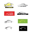 Car logo icon set vector image