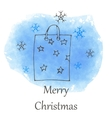 Christmas and new year hand drawn icon vector image vector image