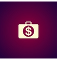 financial icon Flat design style vector image vector image