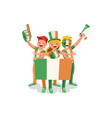 irish people vector image vector image