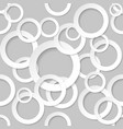 seamless texture circles for design on grey vector image vector image