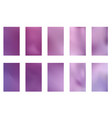 abstract gradient mesh backgrounds purple and vector image vector image