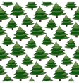 Christmas seamless pattern Green wrapping vector image vector image