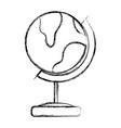 Figure global earth planet desk design