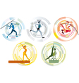 Five Sports Disciplines copia vector image vector image
