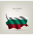flag bulgaria as a country vector image