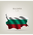 Flag of Bulgaria as a country vector image vector image