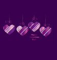 modern luxury valentines day abstract vector image vector image