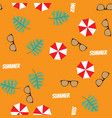 summer color seamless pattern vector image vector image