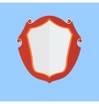 Vintage shield icon vector image