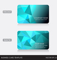 Business Card template EPS10 vector image
