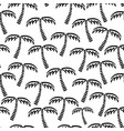 abstract monochrome seamless childish vector image