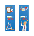 chemistry chemical science pharmacy vector image