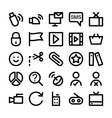 Communication Icons 7 vector image vector image