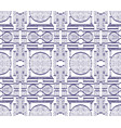 ethnic ornament for fabric ikat seamless pattern vector image vector image