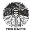 music universe modern t-shirt design vector image