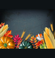 thanksgiving day background vector image vector image