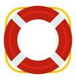 lifebuoy icon isolated vector image