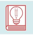 book idea creative icon vector image vector image