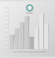 business template for presentation creative vector image