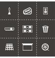 Cinema icon set vector image vector image