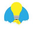 find right idea cartoon management recruitment vector image