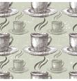 hand drawn tea seamless vector image