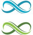Infinity Design Infinity logo Logo template vector image vector image