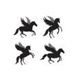 unicorn icon design template isolated vector image vector image