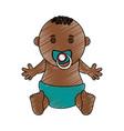baby boy vector image