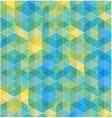 Retro geometric hexagon seamless pattern vector image