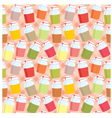 seamless jars with jem pattern vector image