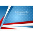 Abstract Independence Day background vector image vector image