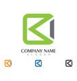 arrows icon logo vector image vector image
