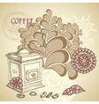 Coffee shop flyer vector image vector image
