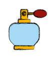 fragrance bottle isolated vector image vector image