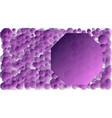 gradient copy space purple violet graphic elements vector image