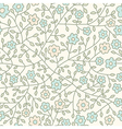 Seamless floral pattern Flowers texture Daisy vector image vector image