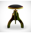 stool for piano vector image