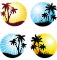 Summer scenes vector | Price: 1 Credit (USD $1)