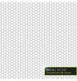 abstract geometric graphic seamless hexagon vector image