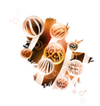 abstract wild decoration vector image vector image