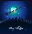 christmas holidays background vector image