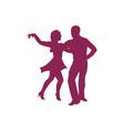 dancing-couple vector image