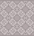 floor tiles ornament gray pattern print vector image vector image