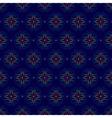 floral seamless pattern on violet background vector image